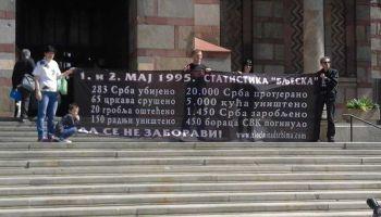 Срна,  1.5.2016, Обиљежена 21 година од егзодуса Срба из западне Славоније