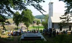Гробница без обележjа у Смиљану Фото: Вести