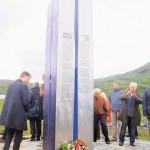 Откривање споменика на месту некадашњег логора Овре Јарнван Фото: Политика / Ј. Чалија