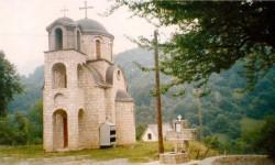 Црква у Велици, метоху Високих Дечана Фото: Вечерње новости