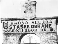 Хрватски усташки логор Јасеновац, јужна капија логора III, Циглана Фото: Архива