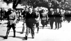 Виктор Гутић, улазак у Бања Луку Фото: Архива