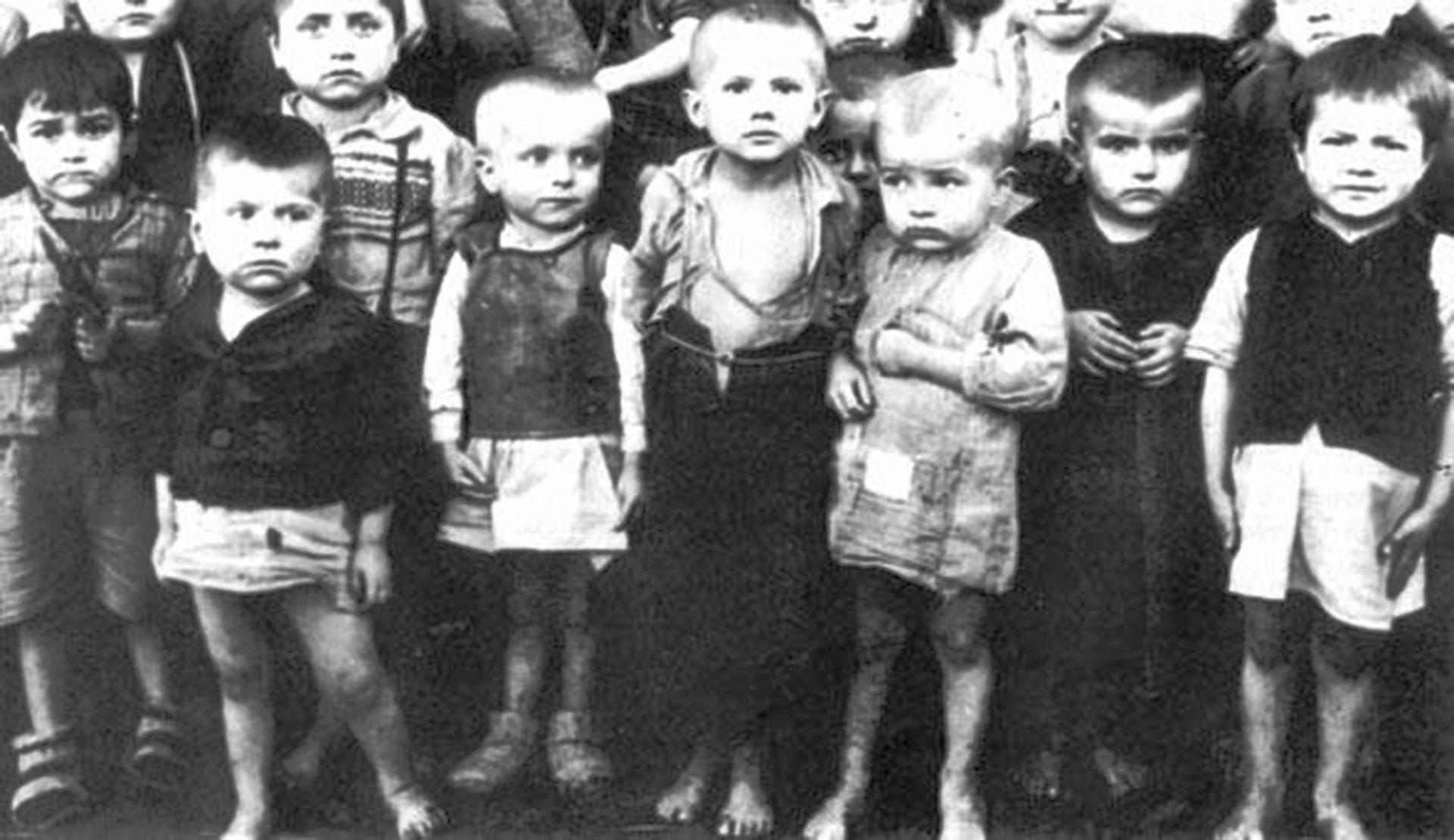 Српчићи узраста до 4 године у хрватском логору Јасеновац