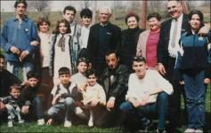 Ђорђе Мартиновић на једној од последњих заједничких фотографија са породицом Фото: Вечерње новости
