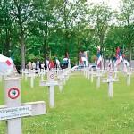 Француска, српско војничко гробље Тије Фото: Политика