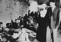 Јастребарско, хрватски нацистички логор за српску децу, под управом хрватске римокатоличке цркве, часних сестара конгрегације св. Винка Паулског Фото: jastrebarsko-jaska.blogspot.com