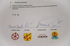 Споразум о сарадњи Лидица и Пребиловаца, 12. јуна 2015. Фото: СПЦ, Епархија захумско-херцеговачка