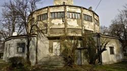 Усташки НДХ логор Сајмиште, кула (стање: 2015) Фото: Политика / Д.Јевремовић
