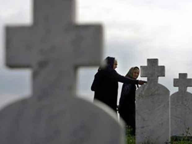 Илустрација, гробље у Братунцу  Фото: РТРС