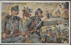 25. (загребачка) пуковнија 42. хрватске домобранске дивизије (погледати ознаке на капама), дописница за прикупљање прилога Фото: Архива