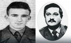 Војник Стојадин Мирковић и мајор Милан Тепић Фото: Блиц / Приватна архива
