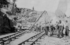 Карасјок (Норвешка): Срби-интернирци на изградњи пута Фото: Архива Нарвик центра у Хордленду / Вечерње новости
