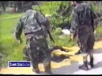 Хрватски масакр српске Територијалне одбране на Миљевачком платоу, 21.6.1992. Фото: Screenshot Youtube