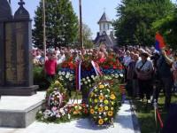 Спомен обиљежје за погинуле борце у Пробоју коридора, Дуга Њива, код Модриче Фото: СРНА