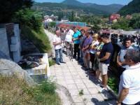 Помен Србима страдалим у Јабуци 1992. Фото: Радио Фоча