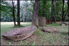 Остаци творнице сапуна Фото: Меморијални центар Доња Градина