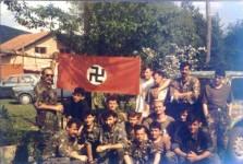 Хрватски војници у Бугојну 1992.године Фото: СРБски ФБРепортер