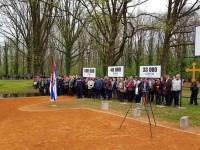 Доња Градина: Дан сјећања на жртве усташког злочина геноцида, 15.4.2018. Фото РТРС