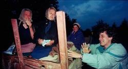 Прогон Срба из западне Славоније, хрватска операција Бљесак, 1. и 2. мај 1995. Фото: Спутњик, Срђан Илић