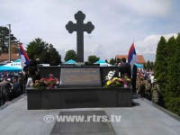 Бијељина, гробље Пучиле: Спомен војницима ЈНА убијеним у тузланској колони Фото:РТРС