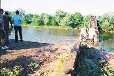 Мост на Великој Морави код Варварина после НАТО бомбардовања Фото: Политика