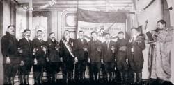 Последња фотографија Вајагића пред полазак из Америке да се боре за Краљевину Србију Фото: Аехива, Вечерње новости