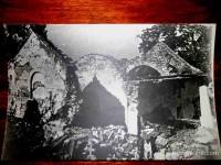 Црква Св. Илије (1618), Крива Река, после спаљивања и минирања на Михољдан 1942. године Фото: brusonline.com