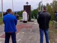 Парастос у Бијелом Потоку, Бања Лука, други дан Васкрса Фото: СРНА