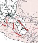 Мапа хрватског напада на Медачки џеп Фото: Вести онлајн