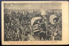 Бекство турских трупа под Зеки пашом, битка код Куманова 1912. године Фото: Ратна разгледница, НБС