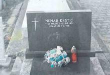 Споменик Ненаду Крстићу у Антуновцу Фото: ДИЦ Веритас