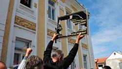 Ћирилица: Непожељна и као додатак, Вуковар Фото: Вечерње новости