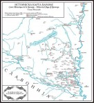 Историјска карта Барање, Дероко Париз,1919. Тодоровић, Београд 2010. Фото: Википедија