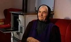 Милица Бошковић удата Маљковић, девојчица из јаме Равни долац Фото: РТС, Вести