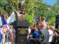 Бијељина: Откривање бисте генералу Драгољубу Михаиловићу, 2021. Фото: СРНА