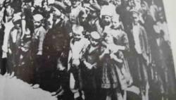 Логораши у мађарском логору у Шарвару Фото: Вечерње новости, Танјуг