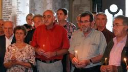 Парастос за Србе убијене у Дивоселу, Читлику и Почитељу 1993. године Фото: Танјуг, Сава Радовановић, Спутњик