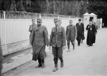Митрополит Јоаникије као заробљеник у Загребу, 1945. Фото: Политика, Музеј Југославије