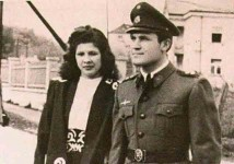 Динко и Нада Шакић, Загреб, 1945. Фото: Архива