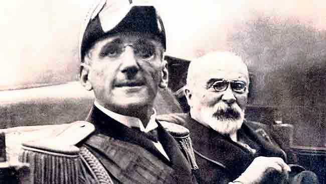 Краљ Александар и француски министар Луј Барту, непосредно пре атентата  Фото: Политика