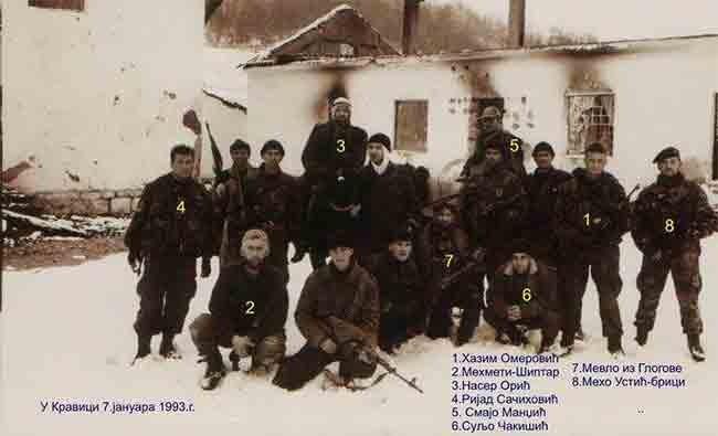 Подриње, Кравица, 7. јануар 1993. године Фото: Архива